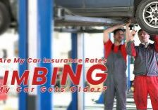 Why Are My Car Insurance Rates Climbing as My Car Gets Older__